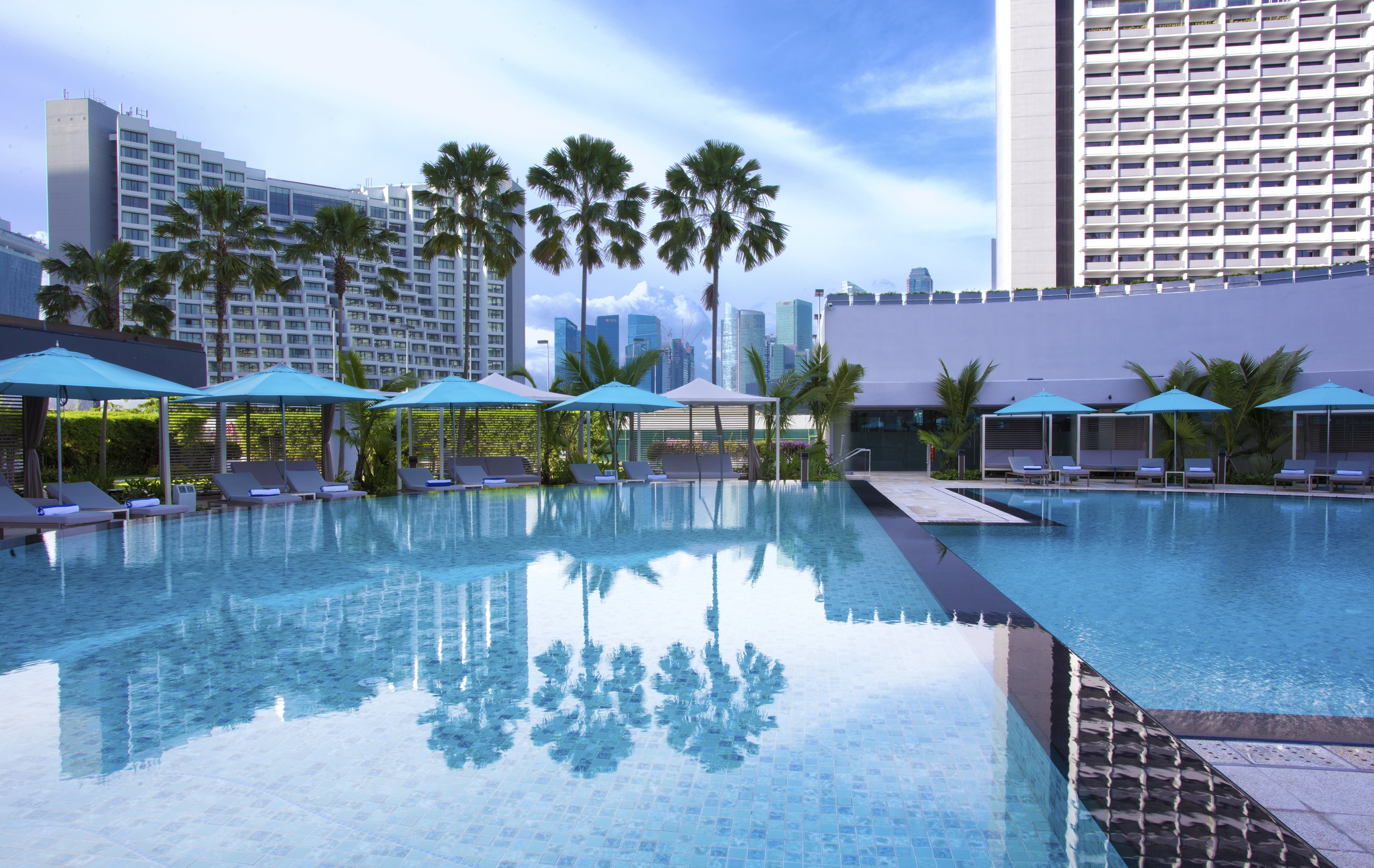 Pan Pacific Singapore Swimming Pool Day Mid Res Sunray Woodcraft Construction